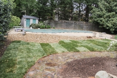 Sod and Landscaping After